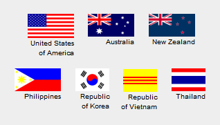 flags of the Vietnam War
